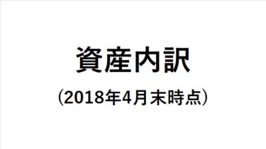 資産内訳を公開(2018年4月末時点)