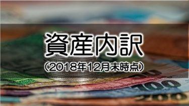 【2018年12月末時点】トラの総資産3,547,801円の内訳