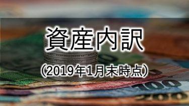 【2019年1月末時点】トラの総資産3,617,527円の内訳